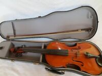 Viola, with bow and case for sale