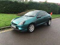 Ford Puma 1.7 Zetec – with new tomtom sat nav, long MOT, new battery, superb condition