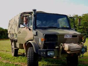 U1700 Ex-ADF Flat Back Unimog for sale Cairns Cairns City Preview