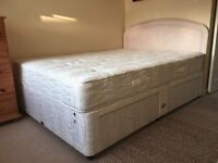 Divan Kingsize Bed (Myer's) - Includes Headboard