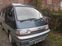 Genuine, private sale of reliable, much lovedToyota Hi Ace camper van. Original features. 4 berth