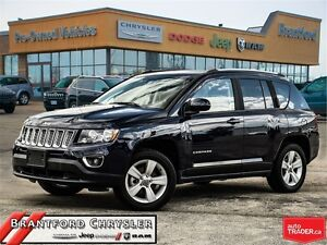 2016 Jeep Compass North~Leather~Sunroof~Remote Start~ Heated Sea