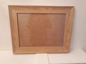 Oak effect large picture frames