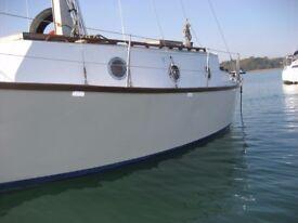 28 foot sailing boat