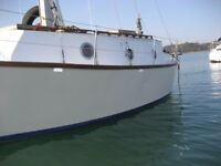 28 foot sailing boat