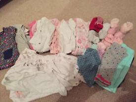 Baby bundle up to 3 months. Practically new & unworn.