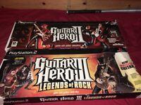 Guitar hero controllers, ps2, free