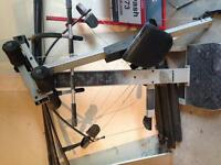 Cross bow work out station