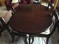 Extendable Dining Table With 4chairs