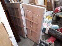 Brand new Barn style Timber Door