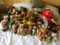 Collection of bears needing re-homing
