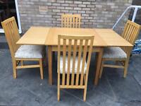 Barker & Stonehouse table with chairs