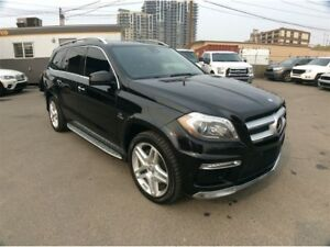 2014 Mercedes-Benz GL-Class / 550 / BI TURBO / AWD / PANO ROOF /