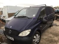 Mercedes vito 111cdi & mercedessprinter 311cdi spare parts available doors wheels wings lights