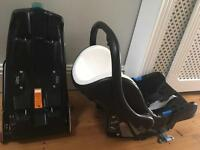Britax isofix base and britax car seat