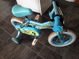 Great little Bike approx age 2 + bought last Xmas.