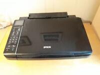 Epson SX515W wireless printer scanner plus ink