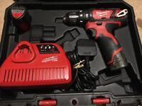 Milwaukee M12BPD 12v combo hammer drill