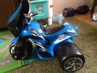 Electric kids motor bike