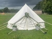 4m Bell Tent with carpet