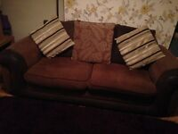 Sofa and Arm chair £80 need gone asap!!