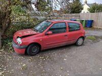 Renault Clio spare/repair