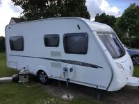 SWIFT CHARISMA 535 FIXED BED 4 BERTH 2008 MODEL WITH MOTOR MOVER