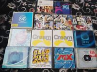 cream classics leftfield ministry of sound ibiza dance WHOLE LOT OF CDS LOT CD collection
