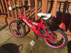 """HUFFY IGNITE 16"""" boys bike"""