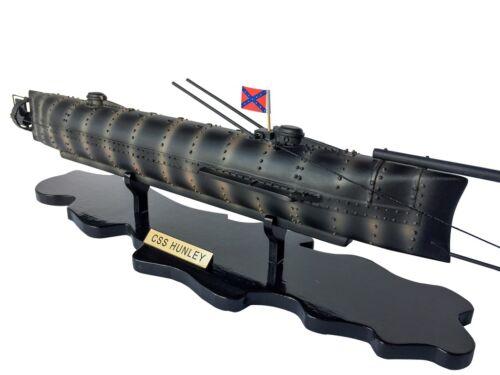 "CSS H. L. Hunley Limited Civil war Model Submarine 25"""