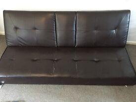 Sofa with legs