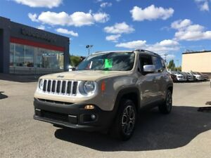 2015 Jeep Renegade Limited-4WD, LEATHER HEATED SEATS