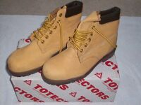 £15 TOETECTOR SAFETY BOOTS SIZE 7 * NEW *