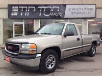 2002 GMC Sierra 1500 SL *** Low KMs, 8' Box, Great Condition ***
