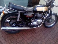 triumph t140 1978 low mileage all in good condition ,wheels brakes exhausts engine gearbox .