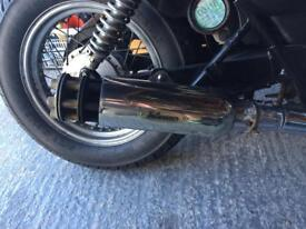Tail gunner Exhaust tail pipe