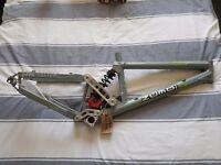 Job lot 5X Zumbi mountain bike / downhill bike frames