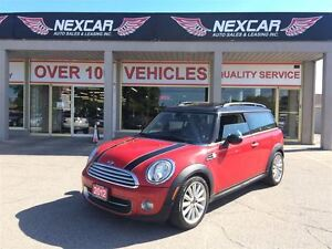 2012 MINI Cooper Clubman 6 SPEED LEATHER PANORAMIC ROOF 107K