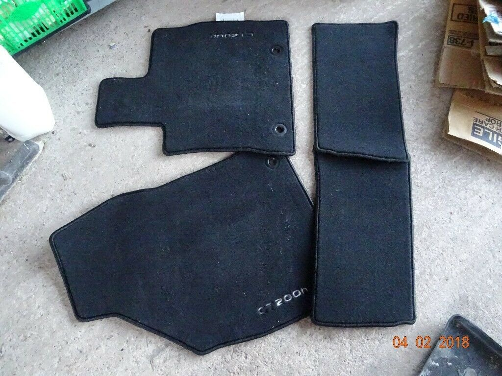custom car black for and floor product mats lexus goroo featured red