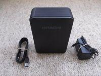 HGST Hitachi Touro Desk DX3 2TB USB 3.0 External 3.5 Hard Disk Drive