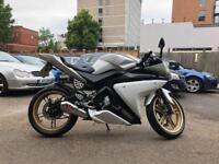Stunning Yamaha YZF R125