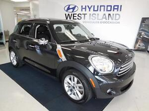 2014 Mini Cooper Countryman1.6L FWD CUIR/TOIT/MAGS 81$/semaine West Island Greater Montréal image 1