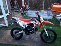 Dirt bike m2r 125cc big wheel