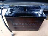 Original battery Panasonic from Mazda mx5 2000