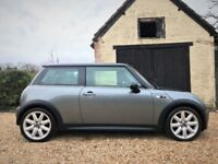 MINI Cooper S, New MOT, Service History, Warranty, Pan Roof, Gloss Black Roof & Mirrors, New Exhaust