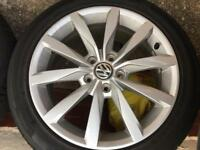 Vw golf mk7 gt Dijon alloys