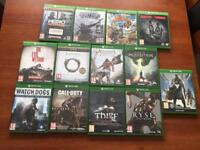 Xbox 360 and xbox one games for sale