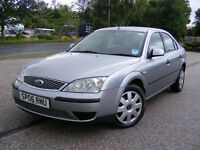 2006 FORD MONDEO 2.0 TDCI, MOT- UNTIL 04.2017 ,GRATE MPG,LOW TAX AND INSURANCE