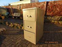 Steel 3 draw filling cabinet