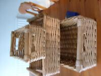 3 Nesting Wicker Baskets 1